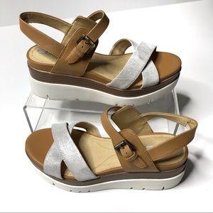 Geox Radwa Strappy Platform Sandals